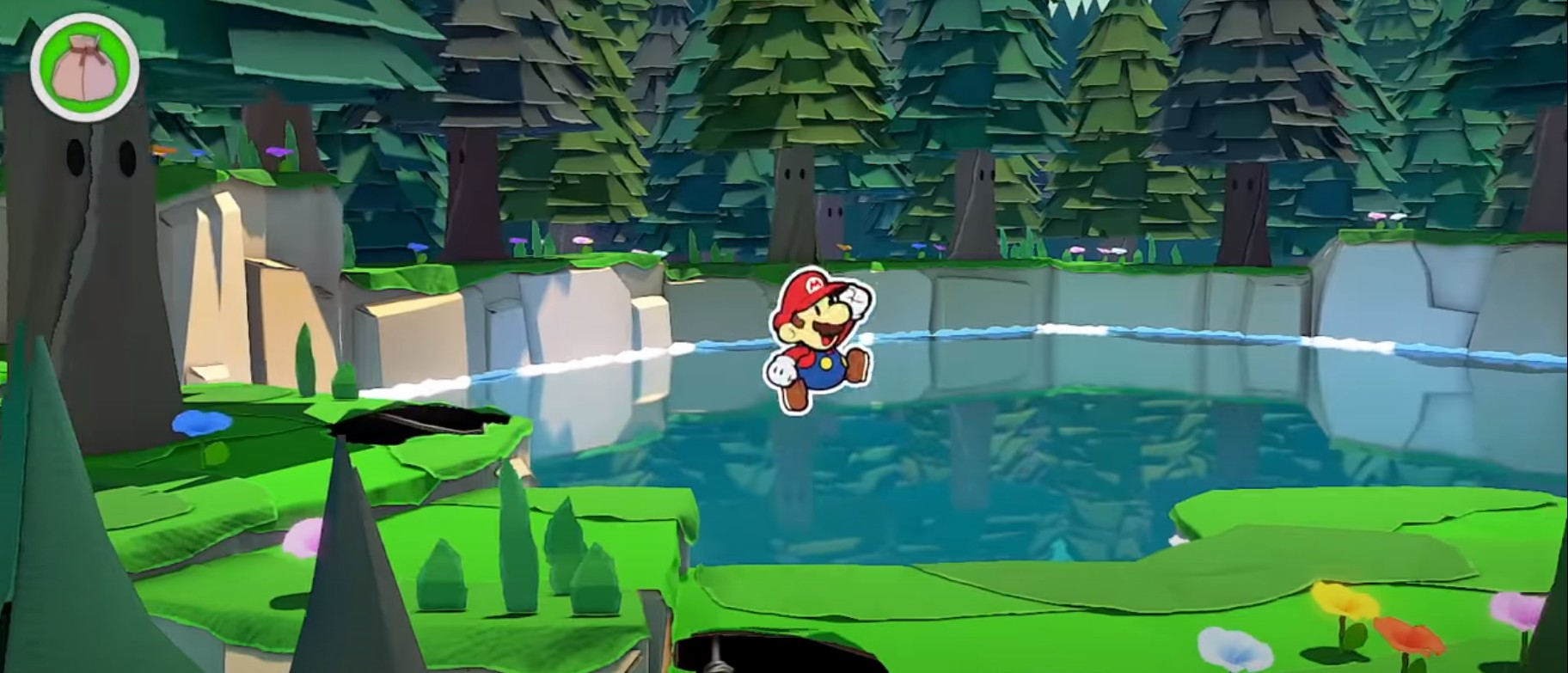 Paper Mario:The Origami King Game Play